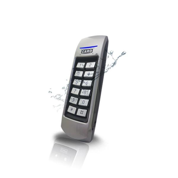 (설치비포함-방화문출입통제)GM-100 방수형카드키 카드인식기 방화문 나무문 철문 사무실 출입통제시스템