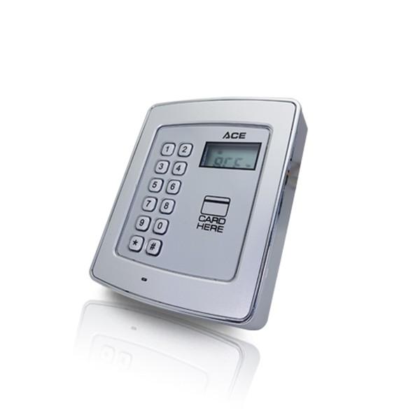 (자가설치-유리문출입통제)ACE-PLUS953 카드인식기 사원증인증 강화유리문 강화유리도어 유리문 사무실 출입통제 입출입시스템 보안장치