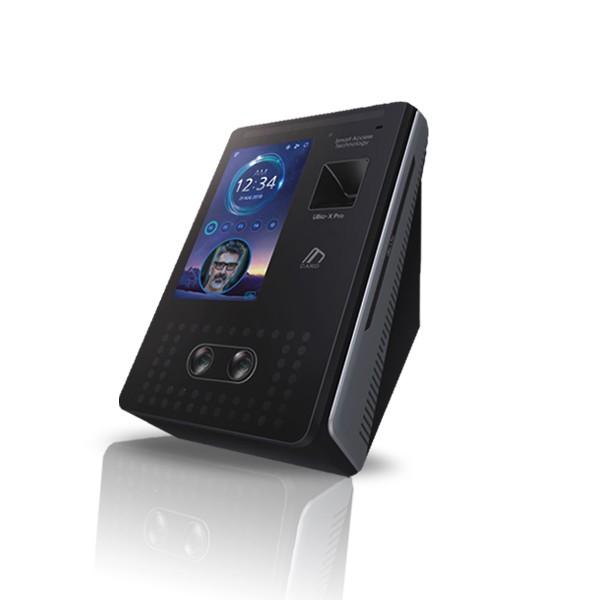 (설치비포함상품)UBIO-XPRO LITE 얼굴 안면인식기 지문인식기 카드전용 유리문 방화문 자동문 사무실 출입통제장치 출입통제시스템