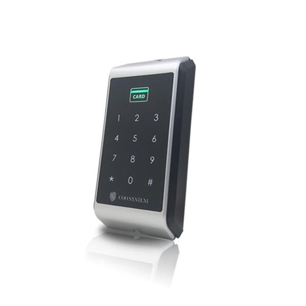 (설치비포함상품)COO-4000R 카드리더기 번호키 유리문 방화문 자동문 사무실 출입통제장치 출입통제시스템