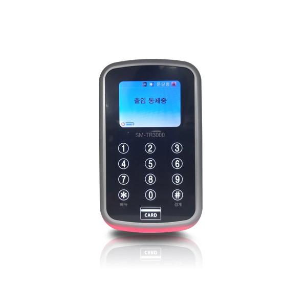 (자가설치-방화문출입통제)SM-TR3000 카드인식기 출입통제기 방화문 철문 카드키 출입통제시스템