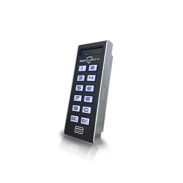 (자가설치-유리문출입통제)HU-1000R 사무실카드키 카드인식 사원증 출입통제기 강화도어 출입문통제시스템