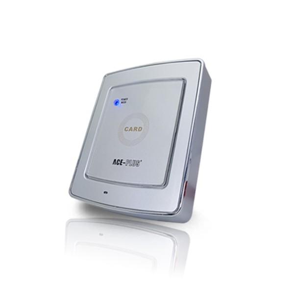 (자가설치-유리문출입통제)ACE-PLUS-1000MC 카드인증 출입통제기 RFID리더기 강화유리도어 사무실 카드키 현관문 출입통제시스템
