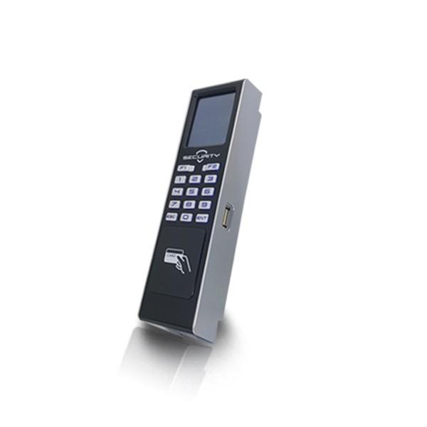 (설치비포함-유리문출입통제)HU-2000R 카드인식출입기 사무실출입보안 강화도어 사무실 출입통제 출입통제시스템