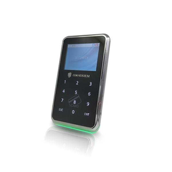 (자가설치상품)COO-5000R 카드리더기 번호키 유리문 방화문 자동문 사무실 출입통제장치 출입통제시스템